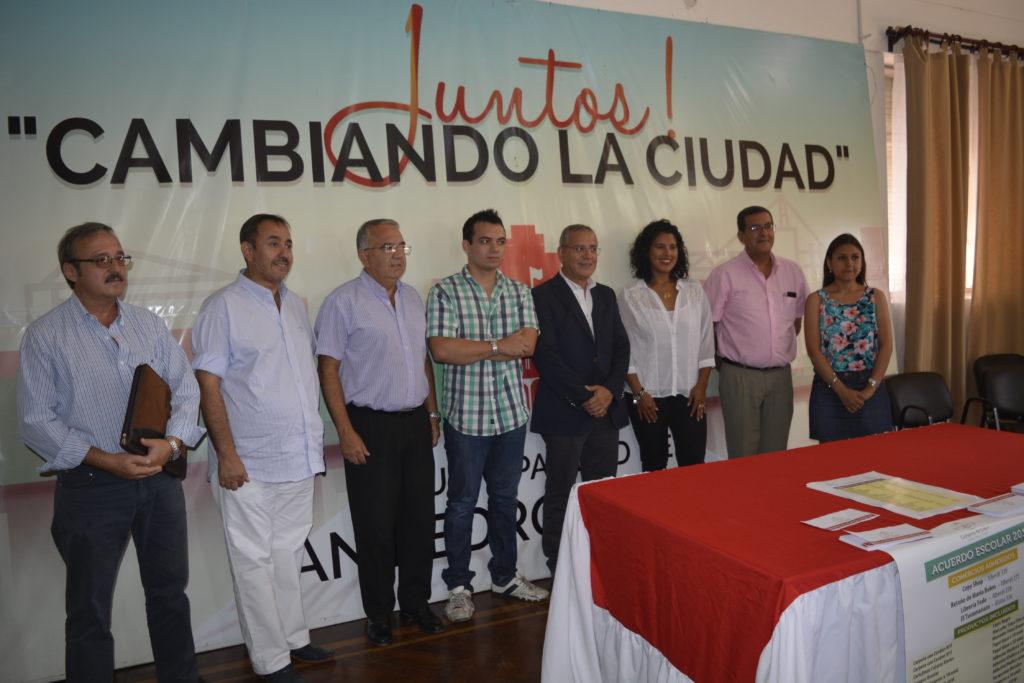 El acuerdo escolar llegó a San Pedro y Libertador General San Martín