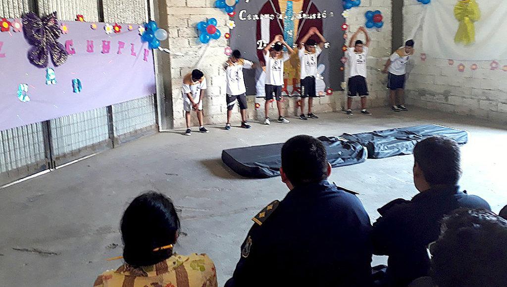 Primer aniversario del Centro de Admisión y Derivación para Adolescentes en Conflicto con la Ley Penal